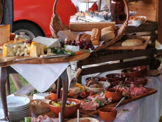 Catering | Tapas Borrelbuffet catering- foodtruck