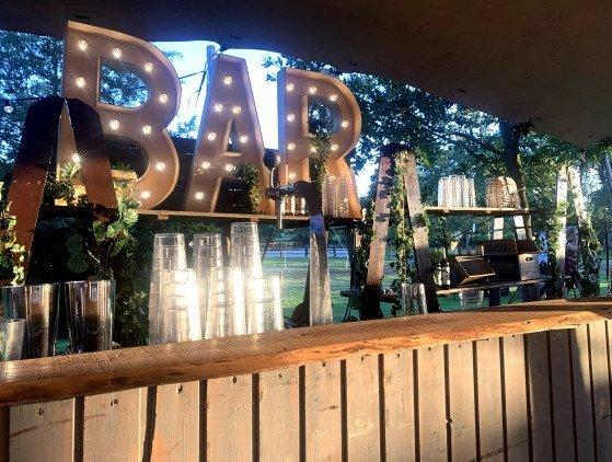 Achterwand voor diverse bars bar- decoratie