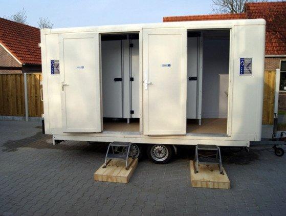 Sanitairwagen sanitair