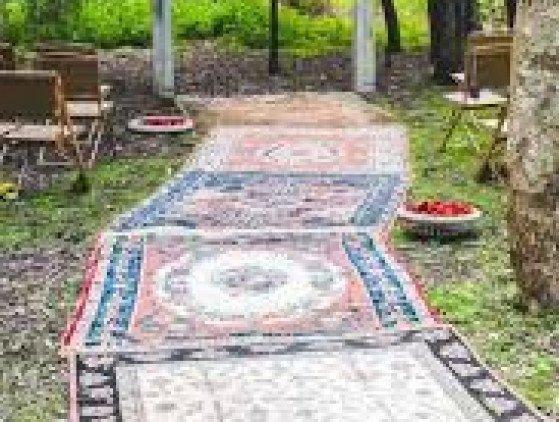 Vintage tapijt S