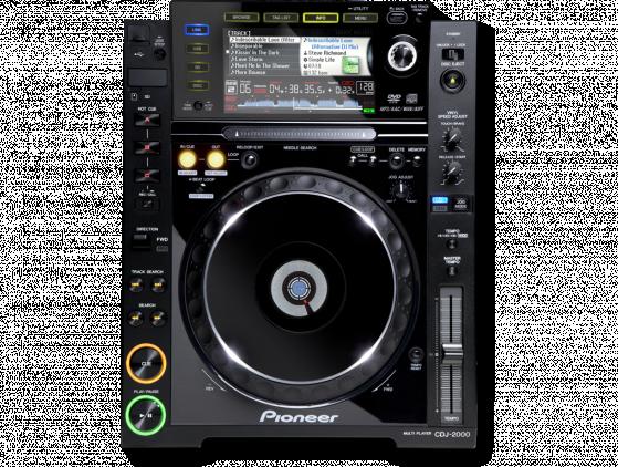 Pioneer CDJ-2000 muziek