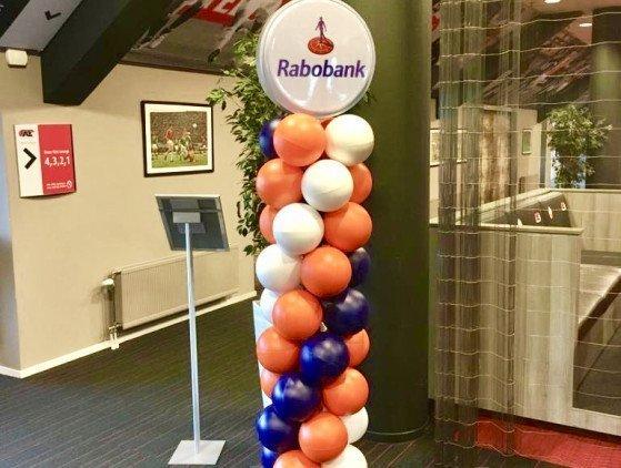 Ballonnenpilaar (set van 2) decoratie- activatie- promotie- ontvangst- verlichting