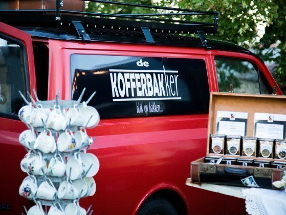 Koffie en Thee van De Kofferbakker: 'Bruiloftsarrangement' bar- catering