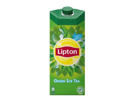 Lipton Ice Tea Green drinken