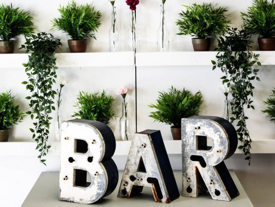 BAR Sfeerletters decoratie