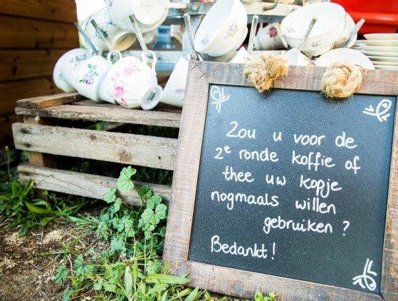 Mobiele Koffiebar: 'Bruiloftsarrangement'