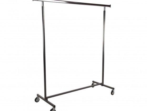Garderoberek verrijdbaar en verstelbaar in breedte garderobe