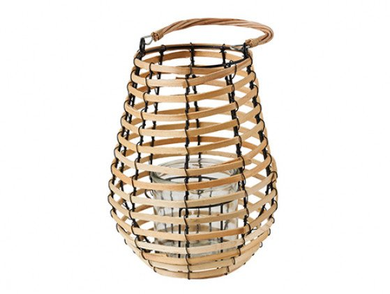 Lantaarn Bamboo 20 X 24 cm