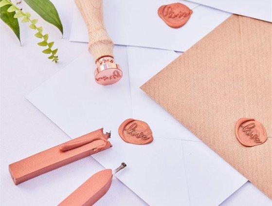 Love stamp | Koper boho