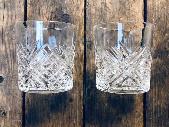 Whiskey tumbler glaswerk