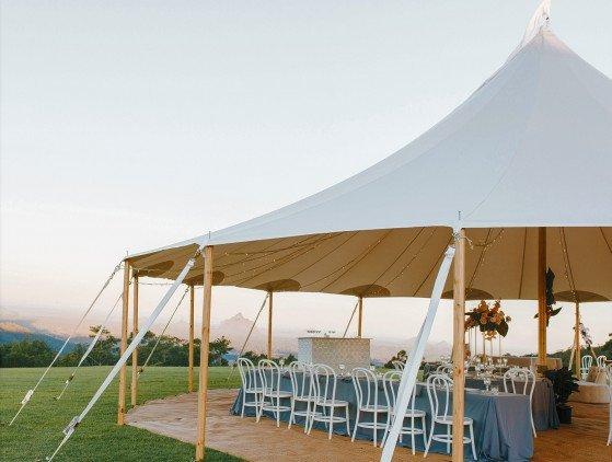 Sailcloth tent 10 x 10 m tent