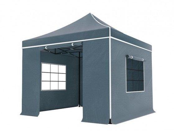 Easy up! 3x3m Pop-Up tent, grijs