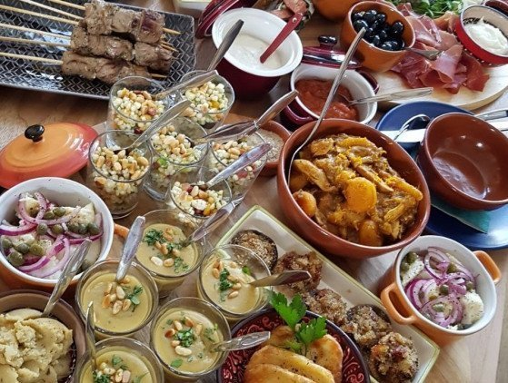 Catering | Tapas diner 'De Luxe' catering