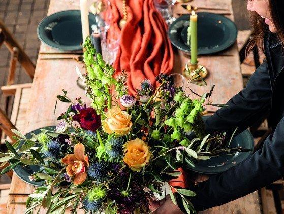 Styling voor je bruiloft! decoratie