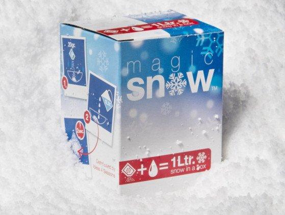 """Magic Snow"" kerst"