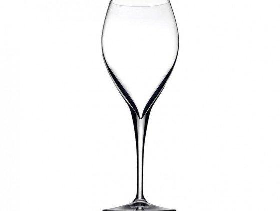 Wijnglas, luxe met lange steel