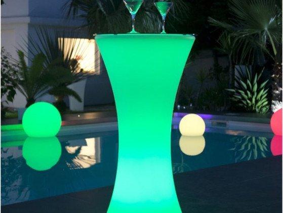 Statafel met LED-verlichting