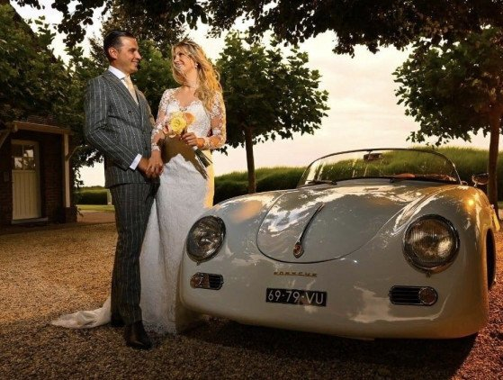 Trouwauto | Porsche 356 Speedster wedding- bruiloft- porsche
