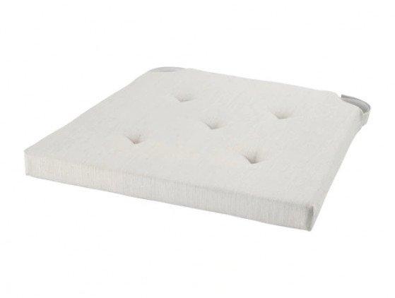 Wit kussentje voor klapstoel meubilair- wedding
