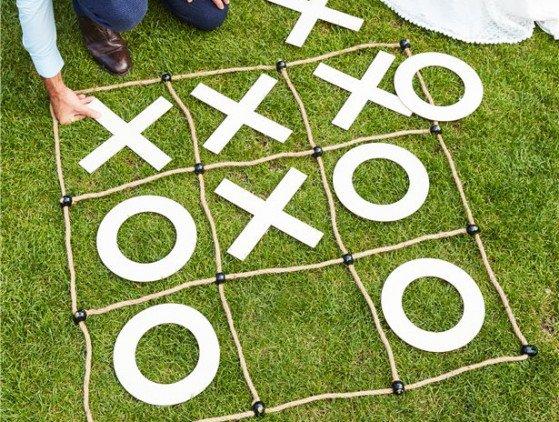 Spel   X O   Hout activiteiten