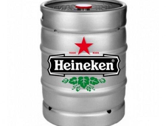 """Bier 50 liter """"Heineken"""""""