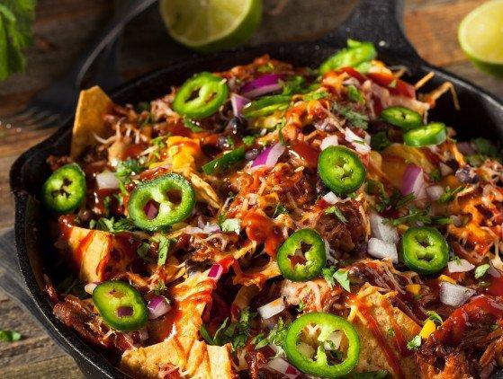 Foodtruck | Nacho's met Pulled Chicken / Pork eten- foodtruck- arrangement