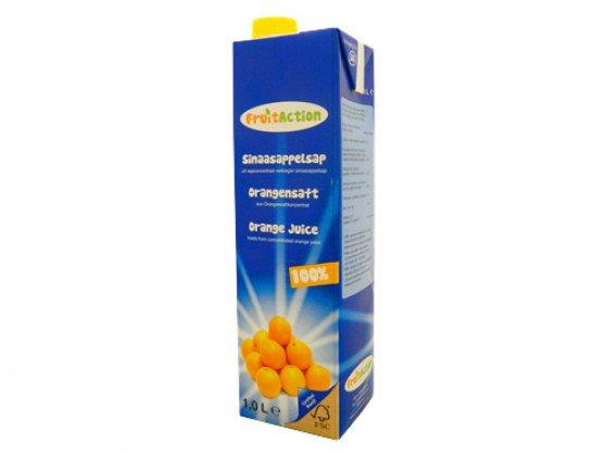 Sinaasappelsap dranken