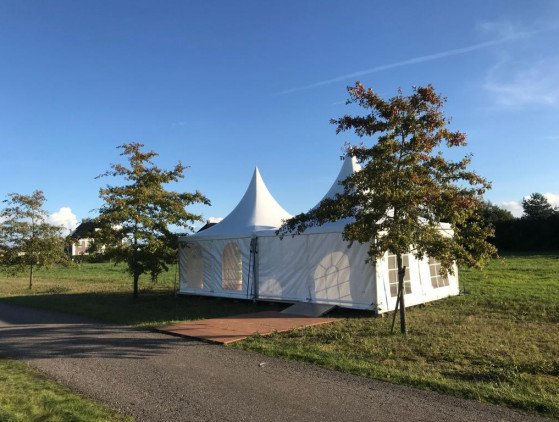 Pagodetent 5 x 5 meter tent
