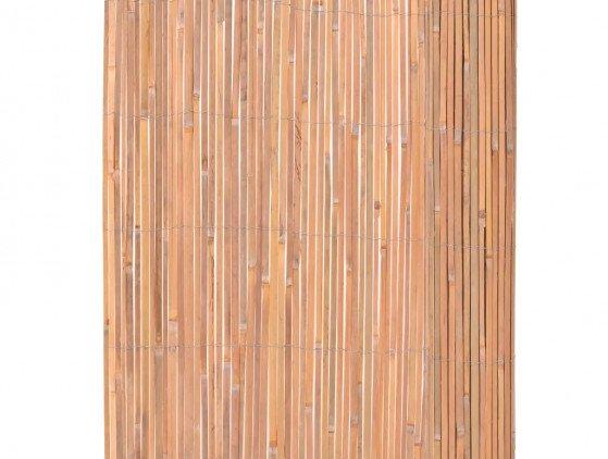 Bamboehek 4 meter lang x 2 meter hoog wanden
